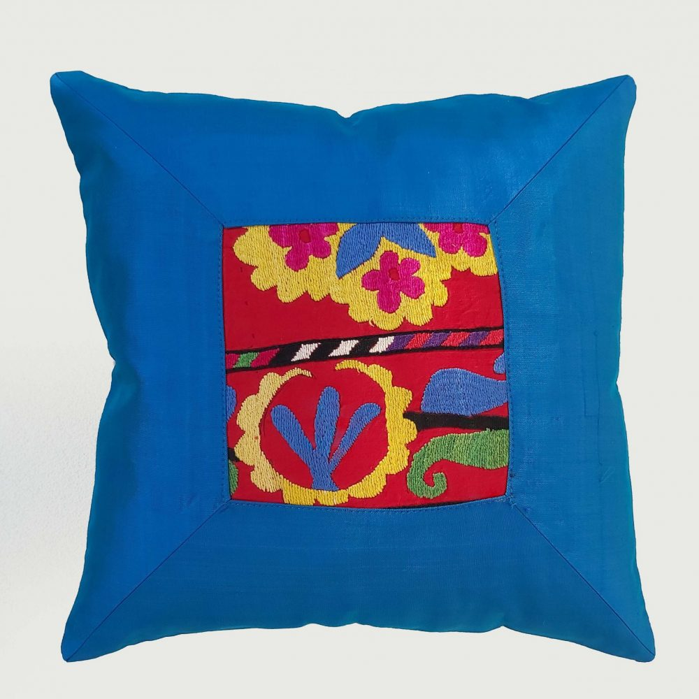 Framed Suzani Decorative Pillow Cover